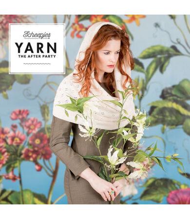 Yarn - The After Party No. 26 - Springtime Hooded Cowl körsál kötésminta