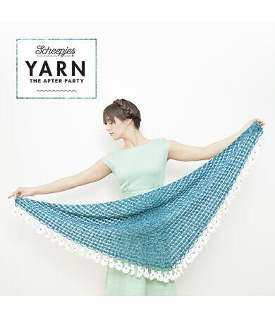 Yarn - The After Party No. 2 - Scheepjes Daisy Shawl horgolásminta