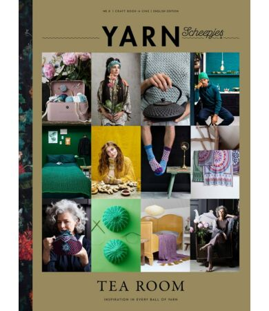 scheepjes yarn magazin 8. szám Tea Room