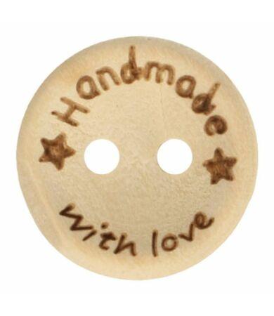 handmade with love feliratos fa gomb