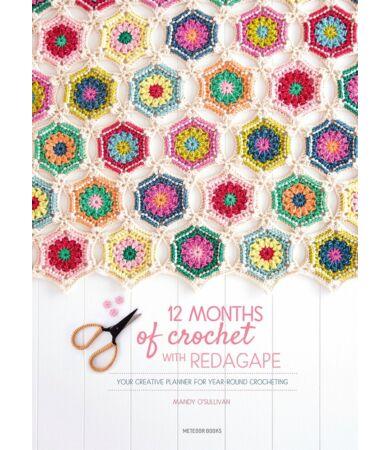 12 months of crochet with RedAgape horgolás könyv