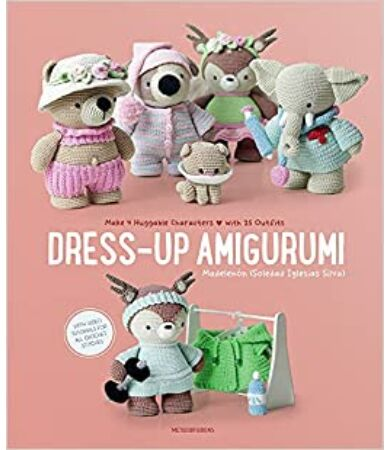 Dress-Up Amigurumi figura öltöztető horgolás könyv