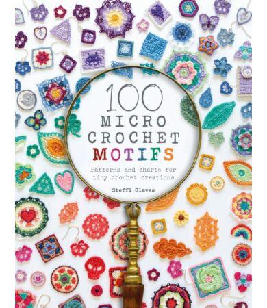 100 Micro Crochet Motifs horgolás könyv