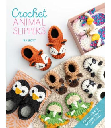 Crochet Animal Slippers horgolt mamuszok könyv