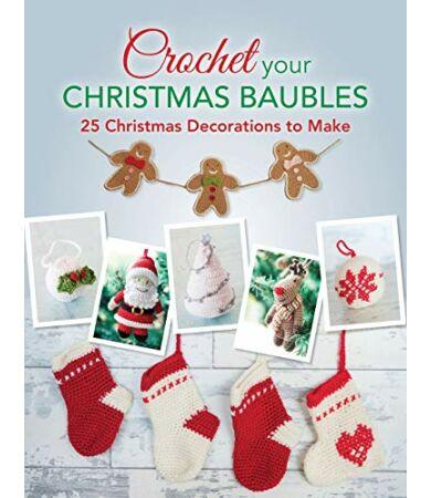 Crochet your Christmas Baubles karácsonyi horgolás könyv