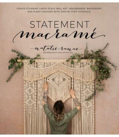 Statement Macramé nagy méretű makramé készítéséhez könyv