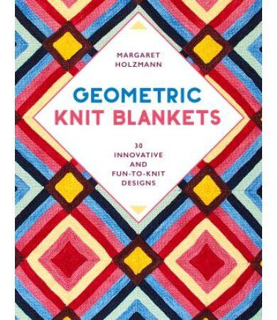 Geometric Knit Blankets kötött takarók könyv