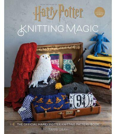 Harry Potter: Knitting Magic kötés könyv