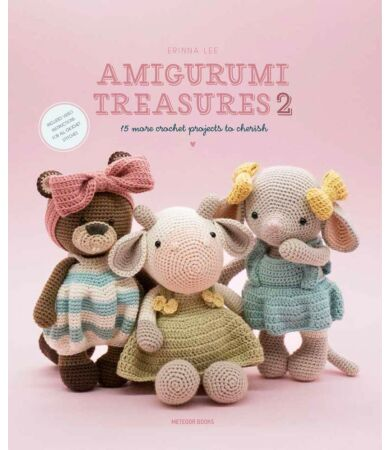 Amigurumi Treasures 2 horgolás könyv