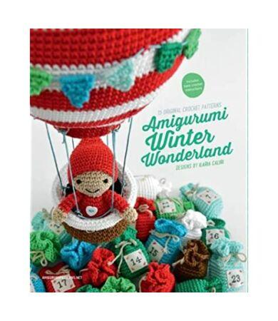 Amigurumi Wonderland mikulás, télapó, karácsonyi horgolás minták