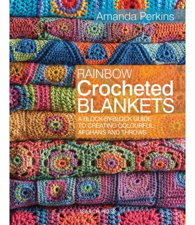 Rainbow Crocheted Blankets horgolás könyv