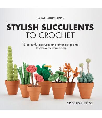 Stylish Succulents to Crochet amigurumi horgolás könyv