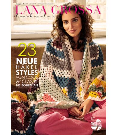 Lana Grossa Filati Hakeln Nr. 3. német nyelvű horgolás magazin