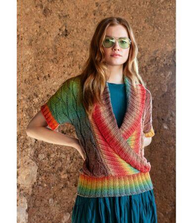 Lana Grossa nyári pulóver ingyenes mintával